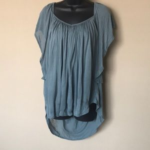 Free People Butterfly Sleeve Blouse Size S